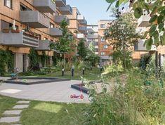 projekte - wohnen - ASP holzwohnbau - querkraft architekten Sidewalk, Mansions, Studio, Architecture, House Styles, Vienna, Inspiration, Scale, Home Decor