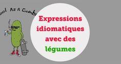 Expressions idiomatiques avec des légumes (2) - aba english