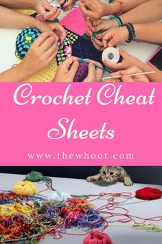 Crochet Cheat Sheets The Best Collection