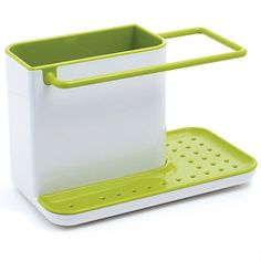 Joseph Joseph Caddy sink area organiser in white and green- | Debenhams