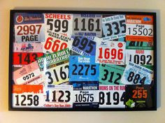 Great Ideas on What to do with your Old Race Bibs and Race Medals!