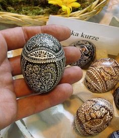 easter egg | XVI Polish-Czech Boarder Folk Art and Craftwork… | Flickr