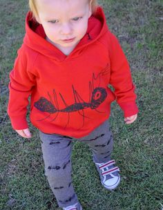 Ants hoody and pants by Red Chalk