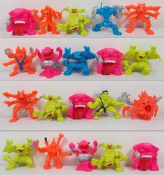 Monster in my Pocket Generation 2006 Mini Figures Fantasy mythical creatures Space Aliens, My Pocket, Classic Toys, Mythical Creatures, Mini, Ebay, Mythological Creatures