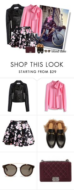 """""""Go for a ride ..."""" by natalie-r-k ❤ liked on Polyvore featuring Burton, IRO, Chicwish, WithChic, Gucci, STELLA McCARTNEY and Chanel"""