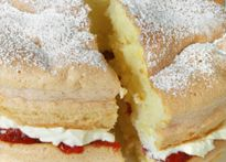 Delicious recipes featuring Daisy Brand® Cottage Cheese  LEMON CURD CAKE