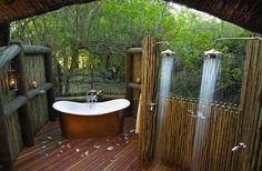 Outdoor shower | 25 Fabulous Outdoor Shower Design Ideas