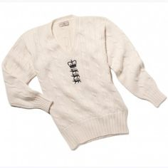 LIMITED EDITION ENGLAND CRICKET SWEATER | Knitwear | Alan Paine