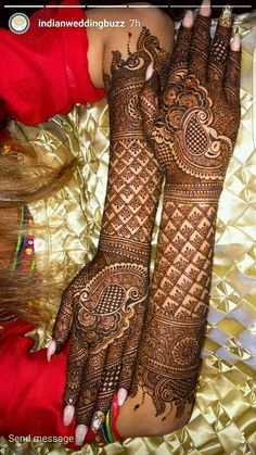 36 Trendy Arabian Bridal Henna Mehndi Designs You will find different rumors about the annals of the wedding dress;