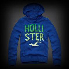 ホリスター Redondo Hooded Sweater セーター グラフィックロゴがグラデーションで華やかなデザイン!フード付きのお洒落なニット。