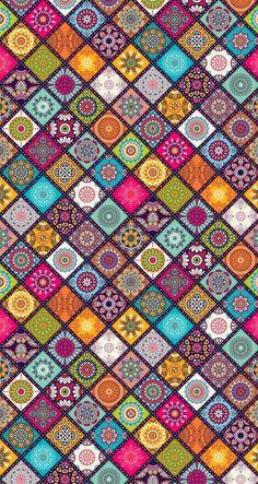 Galaxy Wallpaper, Colorful Wallpaper, Cellphone Wallpaper, Cool Wallpaper, Mobile Wallpaper, Pattern Wallpaper, Iphone Wallpaper, Mosaic Patterns, Pattern Art