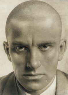 Alexander RodchenkoPortrait of Vladimir Mayakovsky