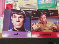 The Star Trek Book of Opposites. Yesh, this is what my children are reading every night. xD
