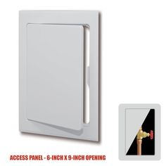 """PlumBest Plastic Snap-Ease Wall or Ceiling #Access #Panel for 6"""" x 9"""" Opening #HomeImprovement #Plumbing"""
