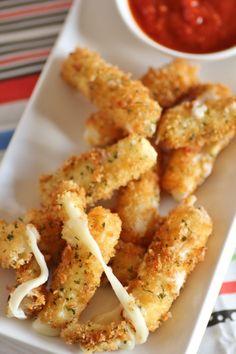 Baharatlı Pane Peynir Çubukları