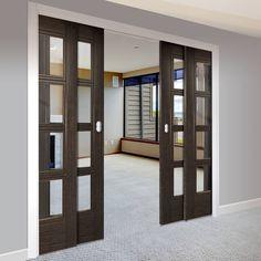 21 Best Ideas For Dark Grey Closet Doors Room Divider Doors, Sliding Room Dividers, Room Doors, Closet Doors, Wooden Sliding Doors, Sliding Door Design, Sliding French Doors, Pocket Door Frame, Pocket Doors