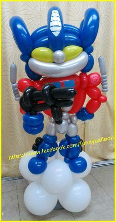 Balloon Toys, Balloon Animals, Balloon Ideas, Balloon Decorations, Twisting Balloons, Balloon Modelling, Movie Characters, 7th Birthday, Overwatch
