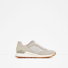 Imagem 2 de DESPORTIVO COMBINADO da Zara  http://www.zara.com/pt/pt/mulher/sapatos/ver-tudo/desportivo-combinado-c734142p3610016.html