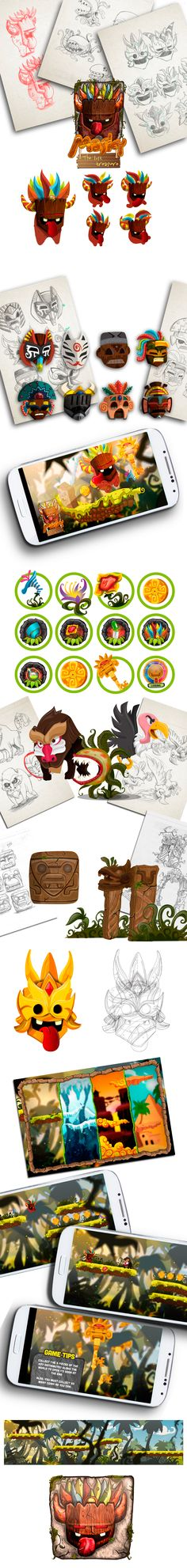 Masky Game on Behance