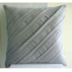 Luxury Light Grey Pillow Covers, Contemporary Pillows Cov... https://www.amazon.com/dp/B005C1BQAU/ref=cm_sw_r_pi_dp_x_QJPrybTGCVNWZ