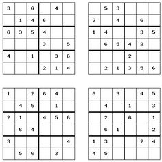 photo relating to Printable Sudoku 4 Per Page named 39 Least difficult Sudoku shots inside 2019 Head teasers, Sudoku