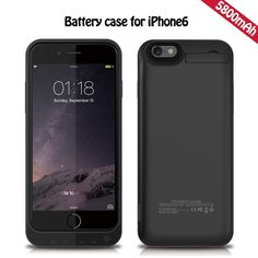 Amazon.com: PowerLead Poco PL500 iPhone 6/6S Battery case Rechargeable 5800mAh Power Bank Pack Backup Battery Portable Charger Case Protective case For iPhone 6/6S 4.7 Battery case: Cell Phones & Accessories