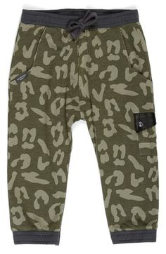 KARDASHIAN KIDS 'Yardage' French Terry Jogger Pants (Baby Boys) available at #Nordstrom