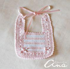 1000 images about baberos ganchillo on pinterest ebay - Labores de crochet para bebes ...