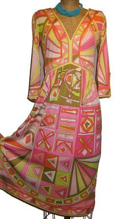 Pucci pink dress