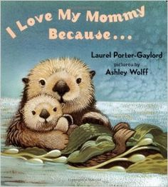 The pictures of baby animals and their mothers, tied together with descriptions of things human mommies do for their babies, make this a favorite book. The pages are heavyweight paper, which resists tearing when held by small hands. In addition to the standard preschool fare of kittens and pigs, the book also features beautiful artwork of more exotic animals, such as grey whales, sea lions, dolphins, otters, koalas, polar bears and more.