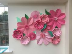 Flowers decor. Perfect for a girlie party, weddings, summer party