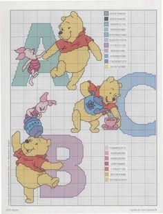 Winnie the Pooh alphabet - part 1 of 8