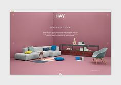 HAY was founded in 2002 and the furniture collection was launched at IMM Cologne in 2003. HAY's ambition is to encourage Danish furniture design's return to the innovative greatness of the 1950's and 1960's in a contemporary context.HAY operates in the f…