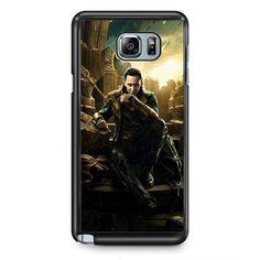 Marvel Loki TATUM-6955 Samsung Phonecase Cover Samsung Galaxy Note 2 Note 3 Note 4 Note 5 Note Edge