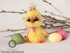Вяжем пушистого цыплёнка - Ярмарка Мастеров - ручная работа, handmade