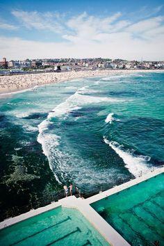 Bondi Beach Sydney Australia #travel, #leisure, #trips, #vacations, https://facebook.com/apps/application.php?id=106186096099420