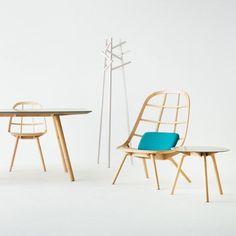 Técnicas japonesas para la construcción de embarcaciones aplicadas al diseño de mobiliario. thedesignwalker:  Nadia furniture by Jin Kuramoto made using Japanese shipbuilding techniques