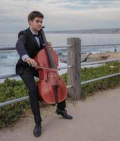 #lajolla #lajollacove #cali #california #usa #beautiful #view #cello #instrument #music #canon #canon6d #6d #sandiego #amazing #ocean #tuxedo #relaxing #summer #vacation #lajollalocals #sandiegoconnection #sdlocals - posted by Abdulelah Gash  https://www.instagram.com/elly_38. See more post on La Jolla at http://LaJollaLocals.com