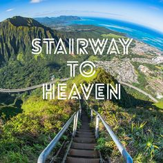 How to climb Stairway to Heaven: Tips and Tricks and what to do. Oahu Hawaii, Visit Hawaii, Hawaii Travel, Hawaii Hikes, Summer Travel, Maui, Oahu Vacation, Vacation Destinations, Vacation Trips