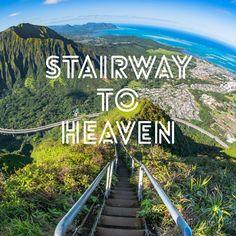 How to climb Stairway to Heaven: Tips and Tricks and what to do.  Haiku Stairs - Oahu - Hawaii   www.travelmechic.com