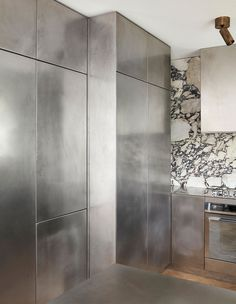 'We had the entire kitchen handmade with a local metal worker who is an artist in himself,' says Tamsin. Photo – Sean Fennessey.