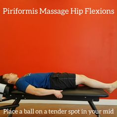 This is a dynamic piriformis massage technique using a lacross or massage ball. May be helpful for those with Piriformis Syndrome related Sciatica or low back and buttock pain. Couch Workout, Hip Workout, Workout Guide, Workout Videos, Body Weight Hiit, Home Weight Workout, Hip Arthritis Exercises, Strength And Conditioning Coach, Buttocks Workout