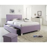 Found it at Wayfair - Fantasia Trundle Upholstered Bed