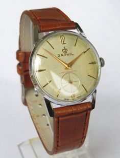 All other Gents Watch Makers, A Gents Darwil Hand Winding Wrist Watch. A gents Darwil hand winding wrist watch. Gents Watches, Seiko Watches, Sport Watches, Watches For Men, Wrist Watches, Watch Necklace, Bracelet Watch, Men Necklace, Omega Speedmaster Moonwatch