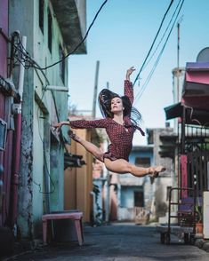 Coming Home: Omar Z. Robles Captures Ballet Dancers in the Streets of Puerto Rico #inspiration #photography