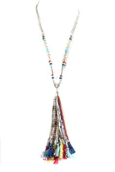 img_7993 Tassel Necklace, Tassels, Clothing, Silver, Jewelry, Outfit, Jewellery Making, Clothes, Jewels