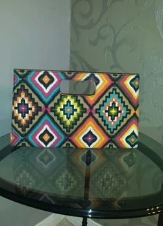 Cool Aztec print clutch