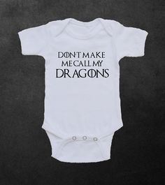 Game of Thrones Baby Onesie or Toddler Shirt - Khaleesi - Daenerys Targaryen - Dragons - Funny Onesie