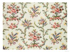 Cloth Woven For Queen Marie Antoinette at the Palace of St. Cloud, c.1797