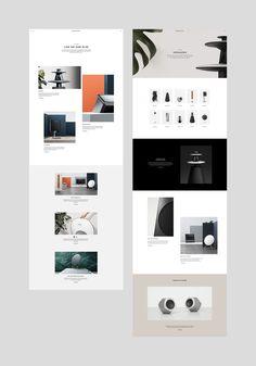 Play it again. e-types produced a new digital platform for b Website Layout, Web Layout, Layout Design, Website Design Inspiration, Layout Inspiration, Portfolio Webdesign, Minimal Web Design, Simple Web Design, Modern Website